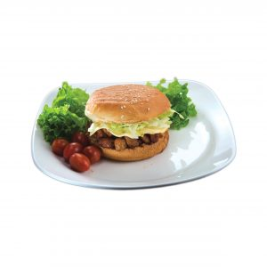 chicken bbq burger